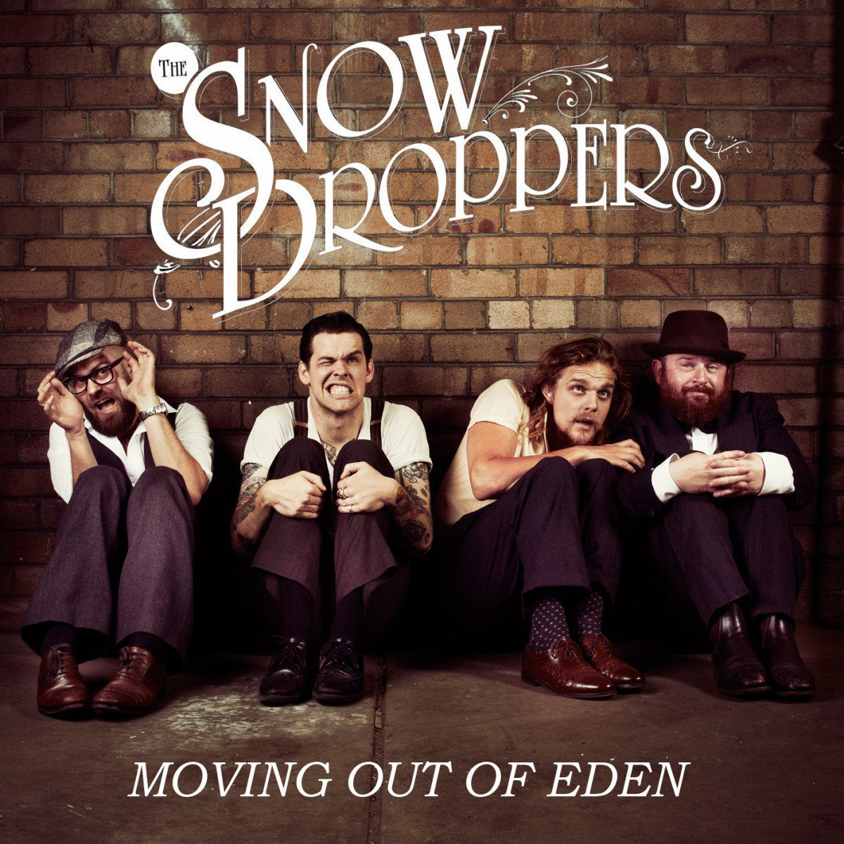 The Snowdroppers - Moving Out Of Eden (single) Mock 1