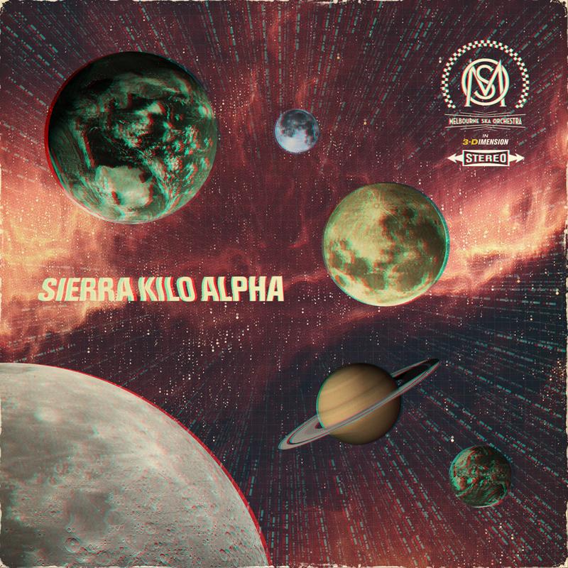 Melbourne Ska Orchestra - Sierra Kilo Alpha - Cover