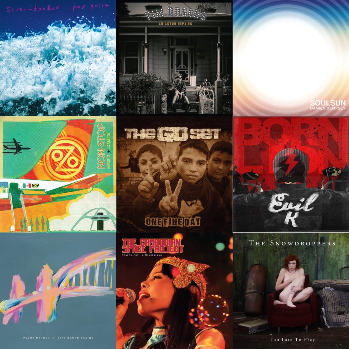 FOUR FOUR ALBUMS 2017