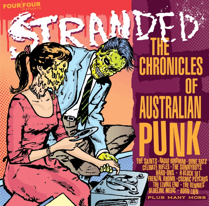 Stranded - The Chronicles of Australian Punk - Front Cover
